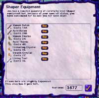 Shaper Equipment